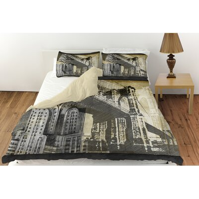 Metropolitan Collage 1 Duvet Cover Collection