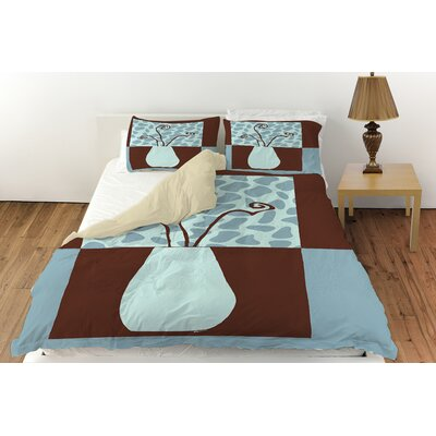 Minimalist Flowers 3 Duvet Cover Collection