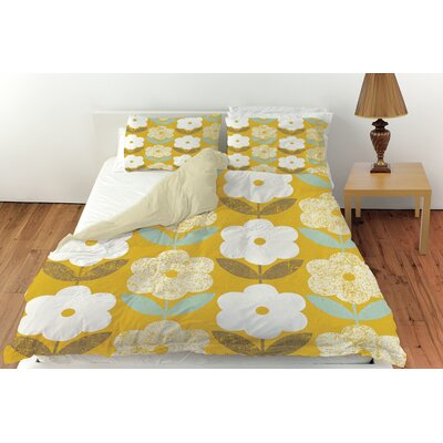 Jar of Sunshine Vintage Blossoms Duvet Cover Collection