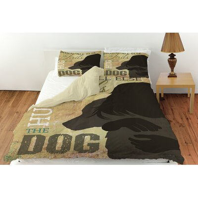 Hug the Dog Duvet Cover Collection