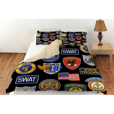 Police Patches Duvet Cover Collection