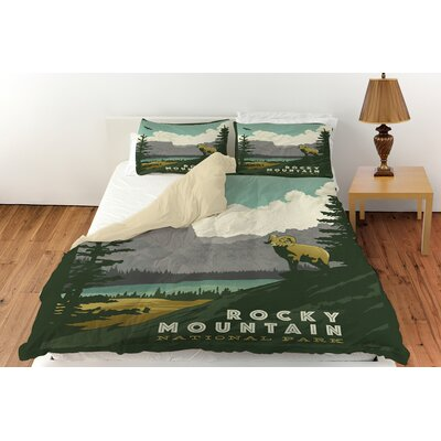 Rocky Mountain National Park Duvet Cover Collection