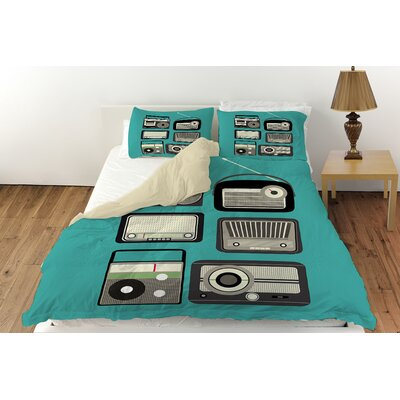 Radios Duvet Cover Collection