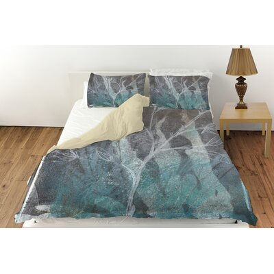 Ombre Wildflowers 4 Duvet Cover Collection