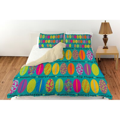 Surfs Up 1 Duvet Cover Collection