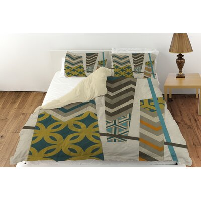 Abstract Scrapbook 1 Duvet Cover Collection