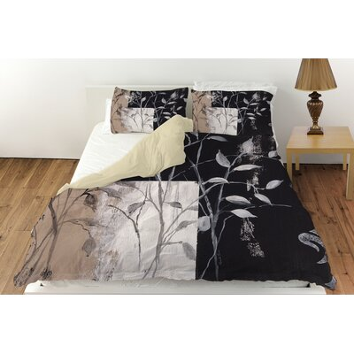 African Leaf Abstract Duvet Cover Collection