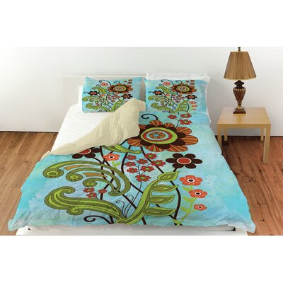 Flower Power Stems Duvet Cover Collection