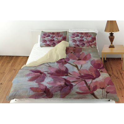 April Blooms 1 Duvet Cover Collection
