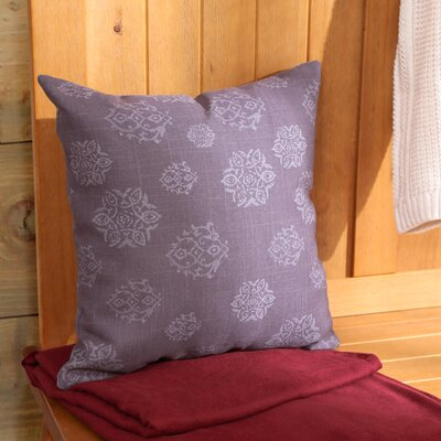 Medallion Indoor Outdoor Pillow Size: 18 H x 18 W