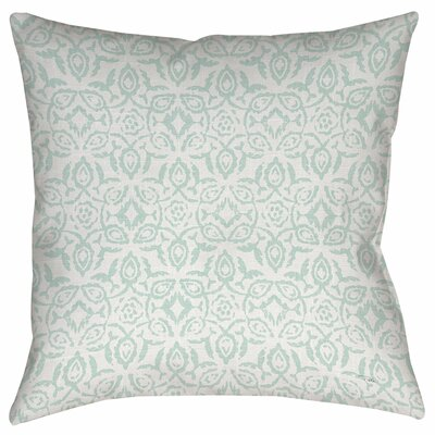 Flowing Damask 2 Printed Throw Pillow Size: 16 H x 16 W x 4 D