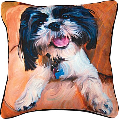 Shih Tzu Baby Throw Pillow