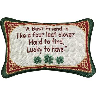 Irish Treasures Word Lumbar Pillow
