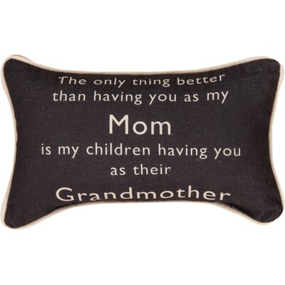 The Only Thing Better... Grandmother Word Cotton Lumbar Pillow