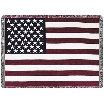 U.S.A. 2.5 Layer Cotton Throw