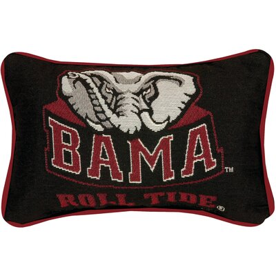 University of Alabama Roll Tide Word Lumbar Pillow