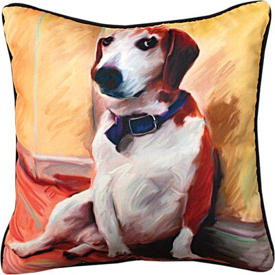 Being a Beagle Throw Pillow