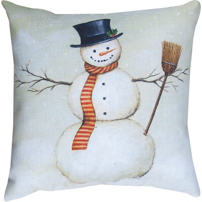 Deck the Halls Knife Edge Throw Pillow