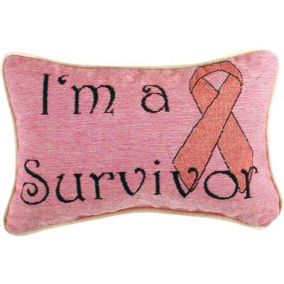 Im a Survivor Lumbar Pillow