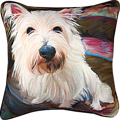 Little Westi Throw Pillow