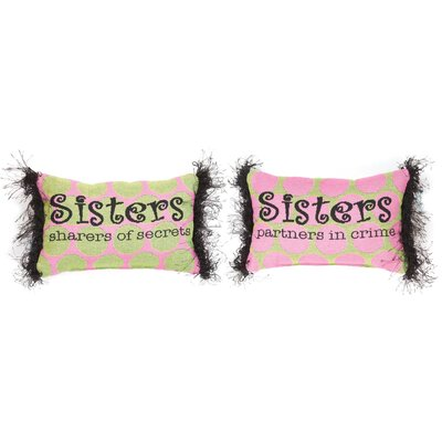 What is a Sister Word Lumbar Pillow