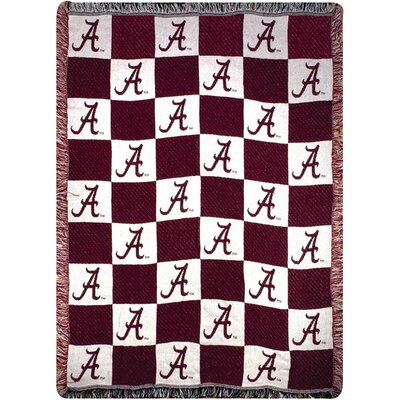 University of Alabama 2 Layer CLC Cotton Throw