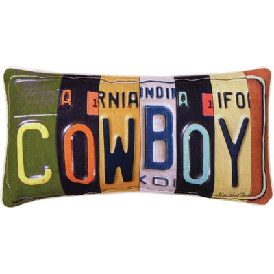 Cowboy Lumbar Pillow