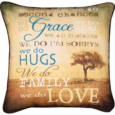 In the House Throw Pillow
