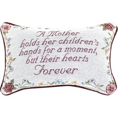 A Mother Holds Her Moment Lumbar Pillow