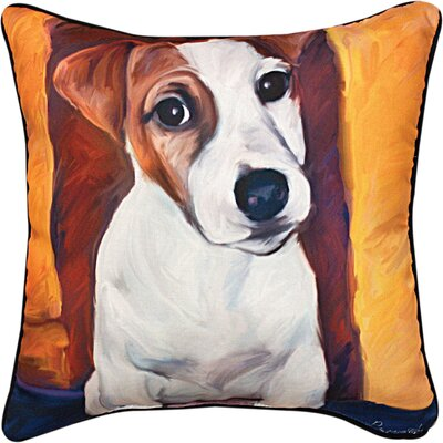Baby Jack Russell Throw Pillow