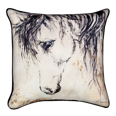 Wild Mane Ii Throw Pillow