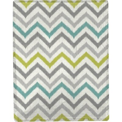 S&J Flea Market Chevron Throw