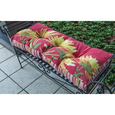 Blooming Bench Cushion