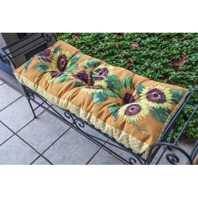 Sunflower Bench Cushion