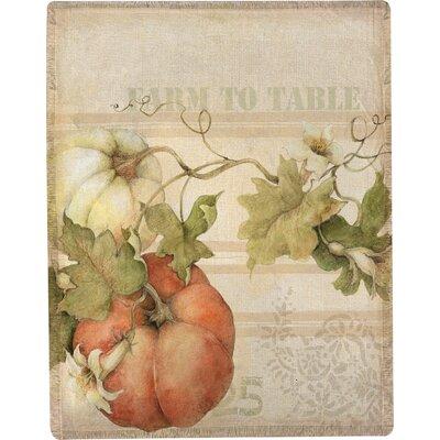 Pumpkins Farm to Table Throw