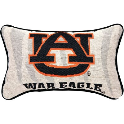 NCAA War Eagle Word Lumbar Pillow NCAA Team: Auburn University