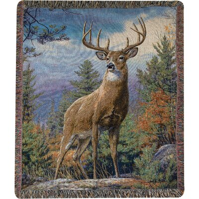 Standing Proud Tapestry Cotton Throw