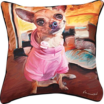 Chihuahua Bella Throw Pillow