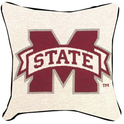 NCAA Throw Pillow NCAA Team: Mississippi State University