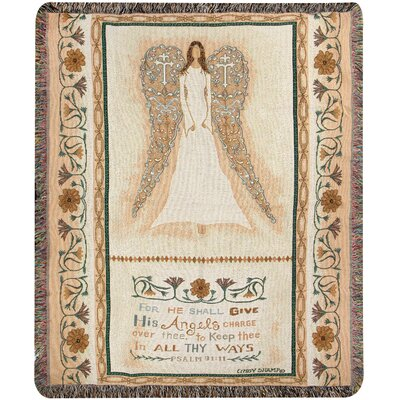 In All Thy Ways Tapestry Cotton Throw