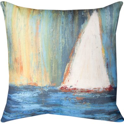Sail Knife Edge Throw Pillow