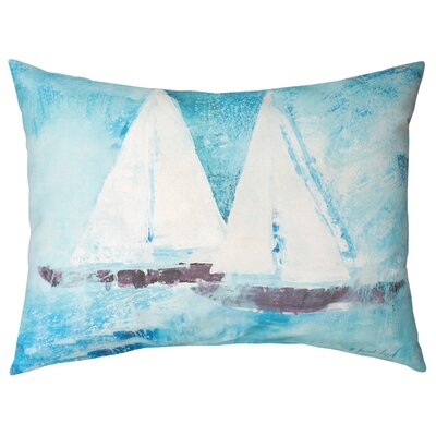 Sail on Knife Edge Lumbar Pillow