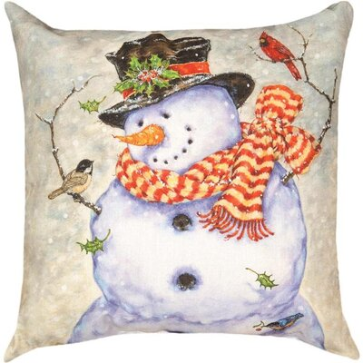 It's Cold Outside Knife Edge Throw Pillow