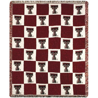 Texas Tech 2.5 Layer CLC Cotton Throw
