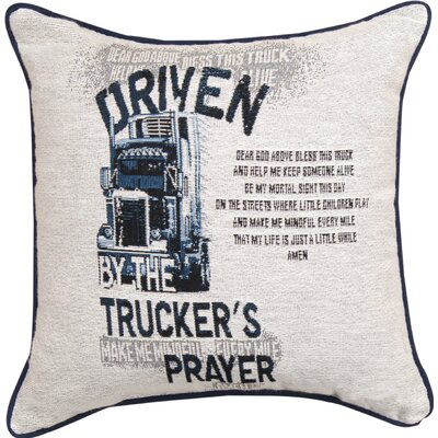 Truckers Prayer Throw Pillow
