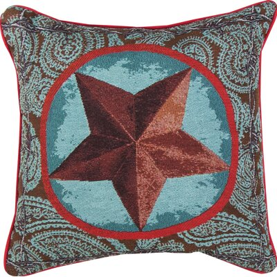 Western Star Throw Pillow