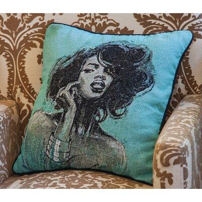 Melody I Throw Pillow