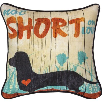 Not Short on Love - Dye Throw Pillow