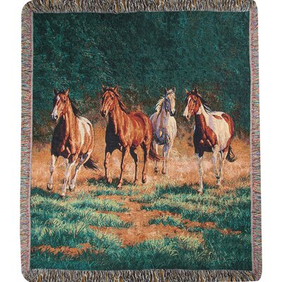 Evening 2 Tapestry Cotton Throw