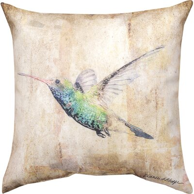 Hummingbird III Throw Pillow
